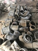 Lot of misc irrigation couplers, plugs, fittings,
