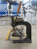 Halvorfold quickprint machine