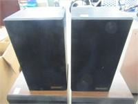 Pair of power speakers