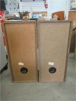 Pair of Akai speakers