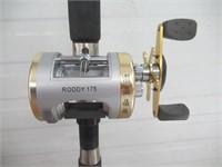 Pinnacle fishing rod w/ Roddy reel