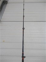 Sabre fishing rod with Shimano reel