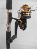 Fishing rod with Penn reel