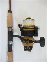 Shakespeare ugly stick fishing rod w/ Penn reel