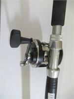 Penn Senator fishing rod with Penn GTI reel