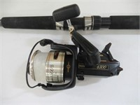 Pinnacle Power tip pro fishing rod with Shimano
