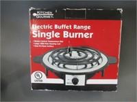 Rod holder, knife & electric burner
