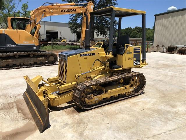 2006 KOMATSU D21A-8 For Sale In Magnolia, Texas