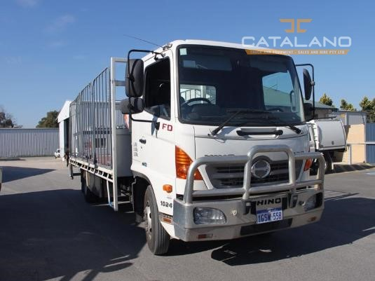 2008 Hino FD Catalano Truck And Equipment Sales And Hire  - Trucks for Sale