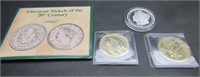 Coins Silver Commemorative Gold Paper Dollars Money