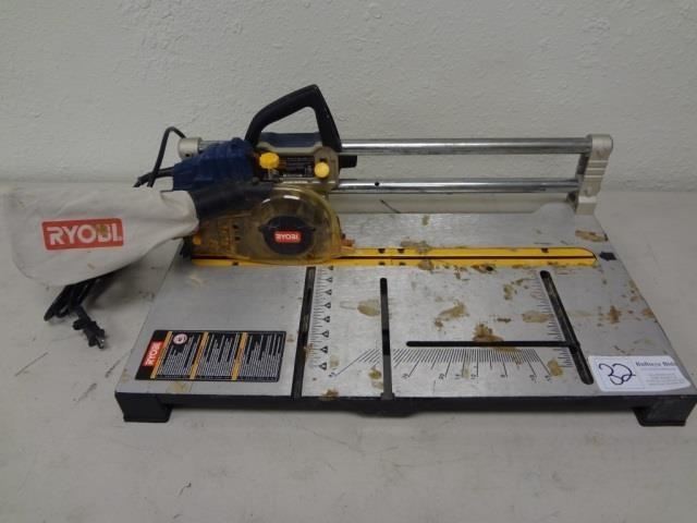 Working Ryobi 5 Portable Flooring Saw Rls1351 Bullseye Bids