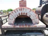 (DMV) Custom Pizza Oven & BBQ Trailer