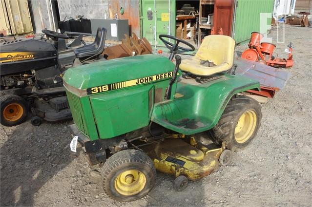 John Deere 318 >> Equipmentfacts Com 1985 John Deere 318 Online Auctions