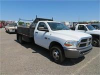 (DMV) 2011 Dodge 3500 Dually Flat Bed