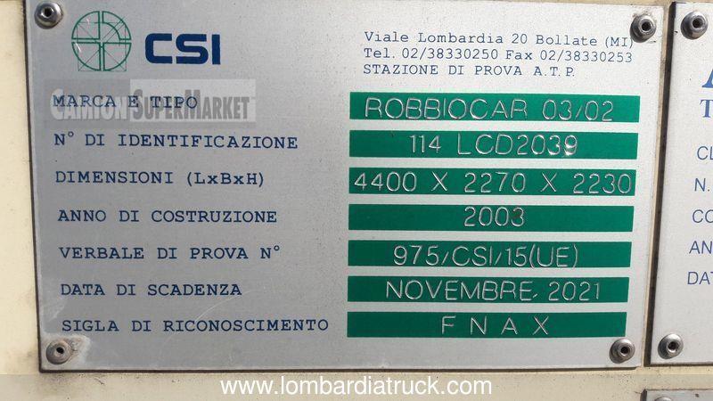Iveco EUROCARGO 75E17 Usato 2003