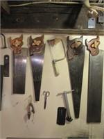 (4) Handsaws & Misc
