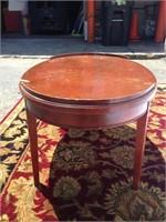 Mersman oval wood coffee table