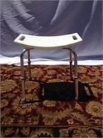 Bath seat/shower bench