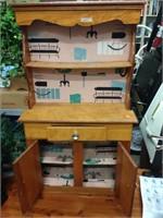 Vintage children's cabinet
