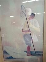 Candid Painting - Gentleman Fishing