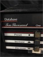 Database Ten Thousand