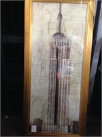 Home Decor Wall Art - Empire State Building