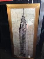 Chrysler Building - Framed Wall Art