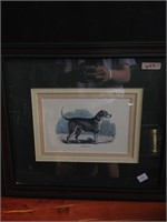 Framed Foxhound Wall Art