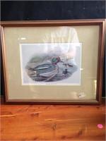 Framed Art Work By John Gerald