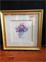 Framed Wall Decor - Flower Boutique