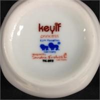 Keyif Princess porcelain tea cups & saucers