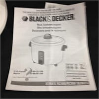 Black & Decker Rice Cooker Plus