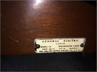 GE 414 Westminister Chime table clock