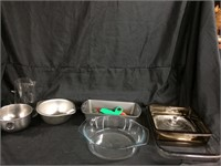 Assorted cooking ware