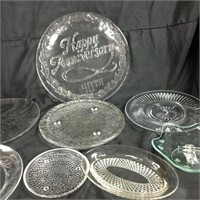 Assorted glass dishes
