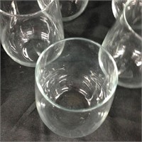 Set of glass cups