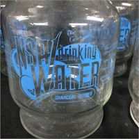 Vintage Fire-Glazed NSA Drinking Water Decanter