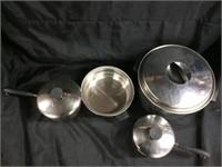 Assorted pots & pans