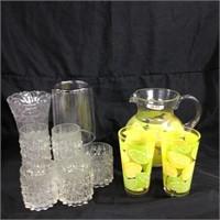 Assorted drinkware