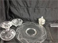 Assorted servingware