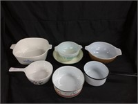 Assorted cooking wear (Corning Ware & Pyrex)
