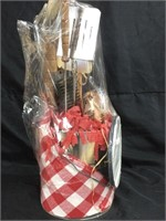 Grill gift set (Grilling w/ Mesquite Wood Chips)
