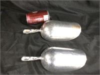 Pair of ice scoops