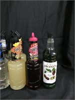 Assorted cocktail mixers
