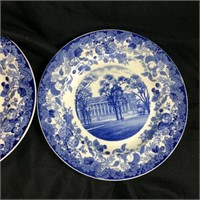 Wedgewood Harvard University plates