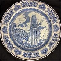 Paif of Wedgewood Harvard University plates
