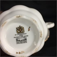 Assorted tea cups & saucers