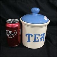 Porcelain Tea Jar