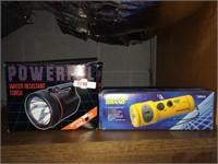 Pair of flashlights