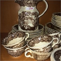 Mason Vista China set 54 pieces